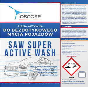 SAW Super Active Wash